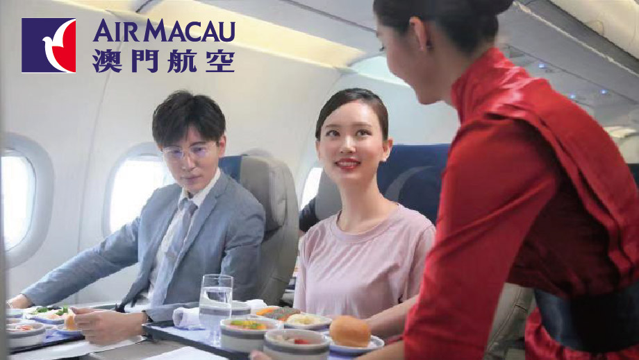 Exclusive Offers for guests with Air Macau boarding pass